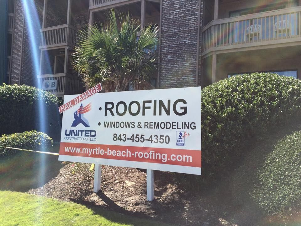 Commercial roofing contractors in Myrtle Beach SC.