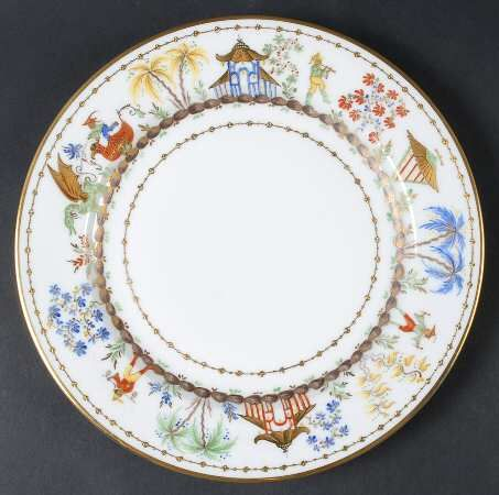 Tiffany Cirque Chinois Dinner Plate