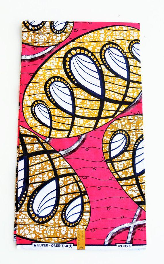 Moderne Style Africain Tissu Wax Super Deluxe Flower Pattern