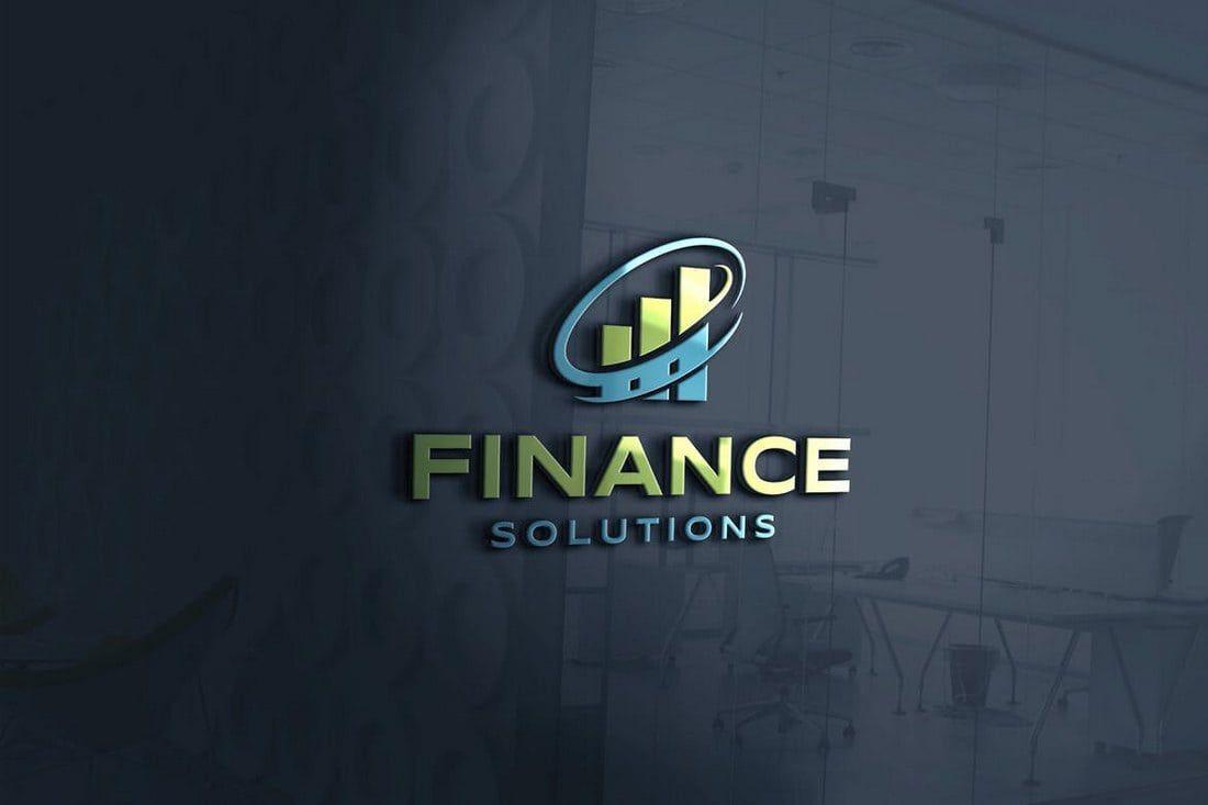Poshop Logo Templates | 40 Best Photoshop Logo Templates Psd Logo Financial