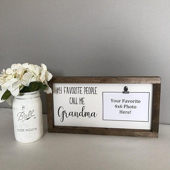 Mother S Day Gift For Grandma My Favorite People Call Me Grandma