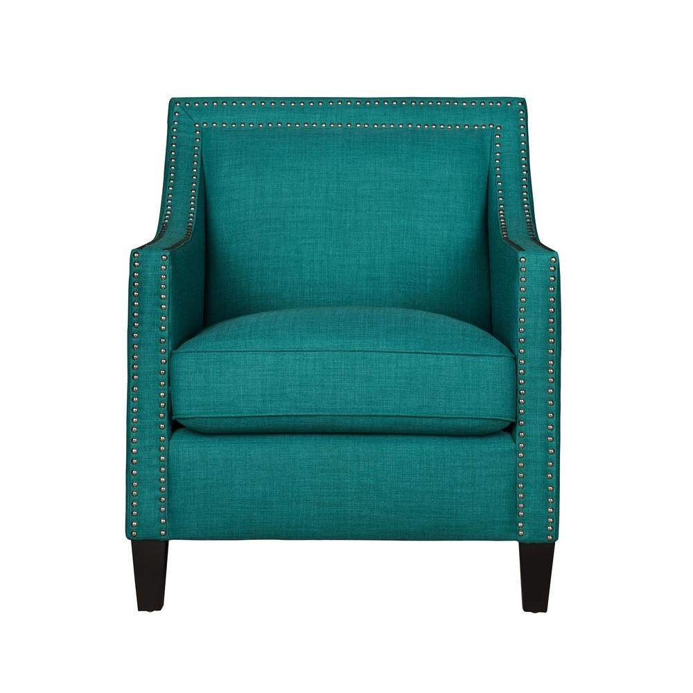 element international emery teal blue arm chair in 2019 products rh pinterest com