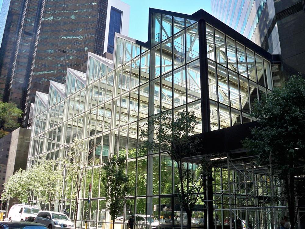 Ibm Building Atrium By Matthew Bisanz 590 Madison Avenue Wikipedia Atrium Building Wellness Design