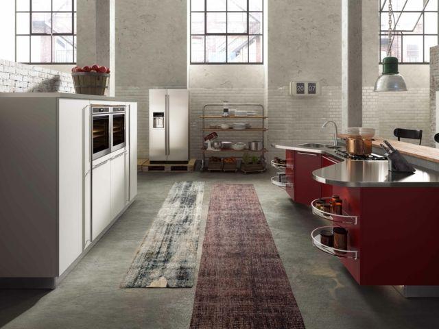Küche Edelstahl Theke Stauraum Küchenspüle living Pinterest - küche mit theke