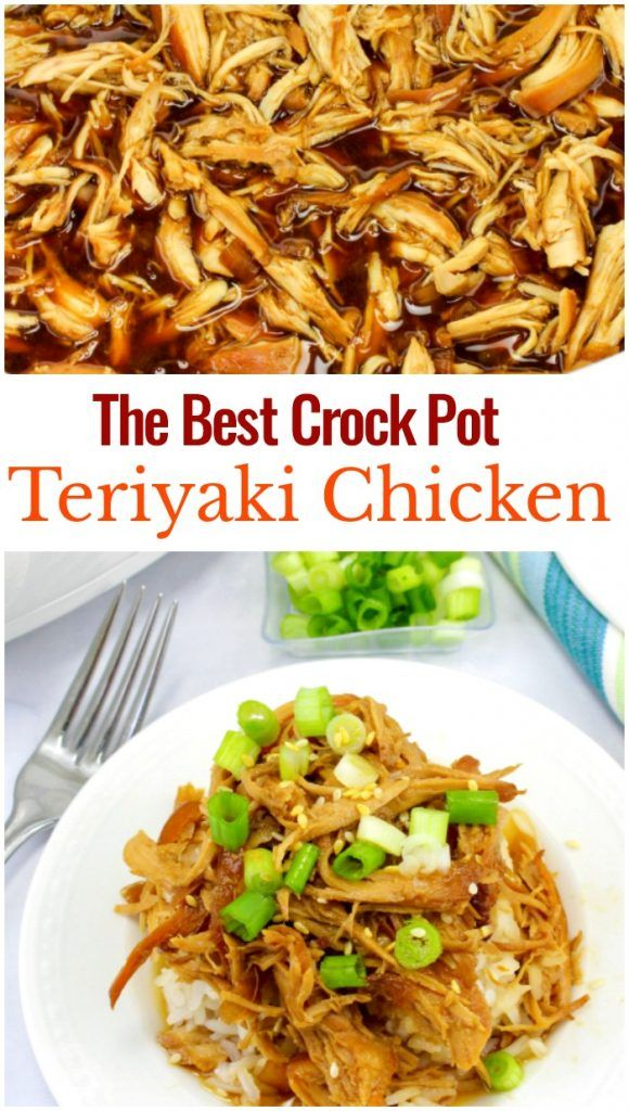 The Best Crock Pot Teriyaki Chicken Recipe, This Crock Pot Teriyaki Chicken is amazing! It's an easy Slow Cooker Teriyaki Chicken made with only a few ingredients and has amazing flavors. Teriyaki Chicken is an easy weeknight meal your family will love. Teriyaki Chicken Crock Pot, Teriyaki Chicken healthy #healthycrockpotrecipes
