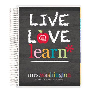Live Love Learn TeacherS Lesson Planner Teacher Things