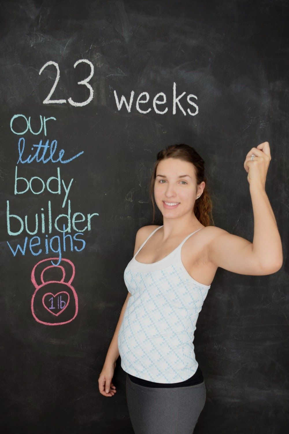 weekly baby bumpdate / 23 weeks / fit moms /fit pregnancy / baby weighs one  pound