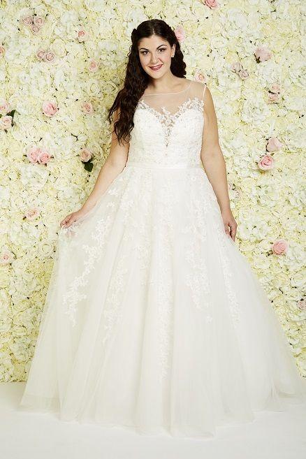 Las Vegas Callista Plus Size Wedding Dresses Prinzessin Ball