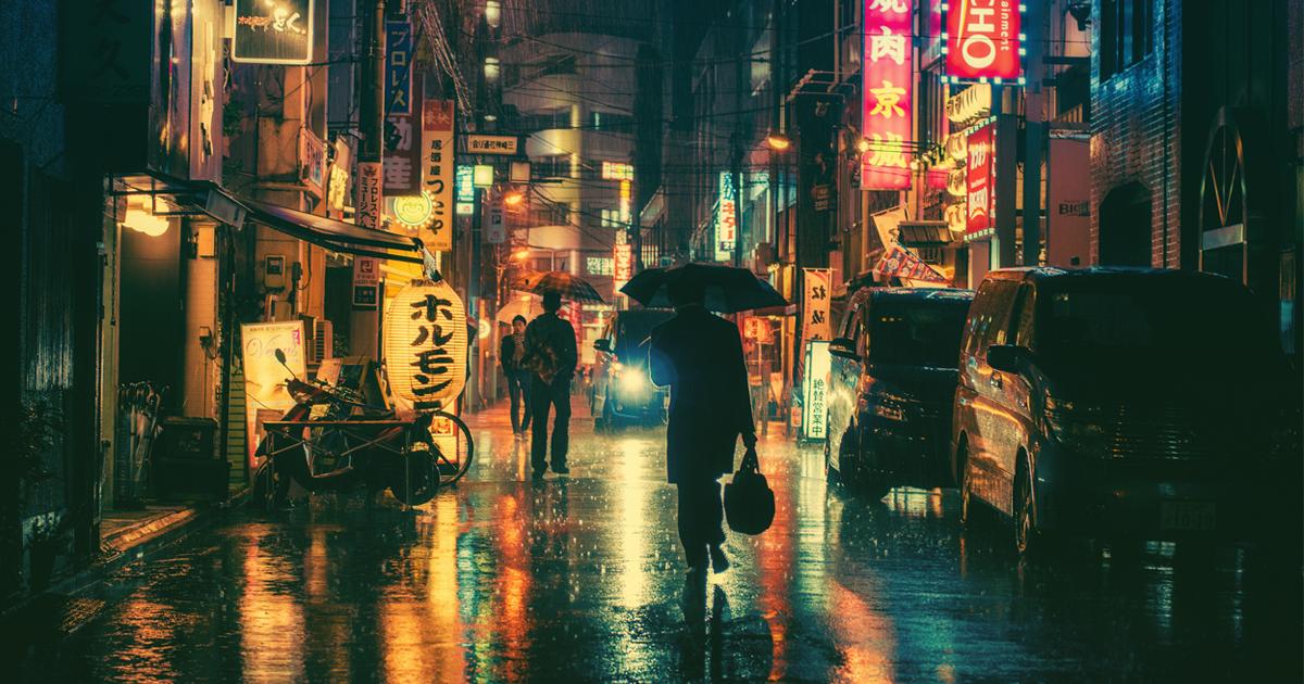 Magical Night Photography Of Tokyo's Streets by Masashi Wakui | Bored Panda
