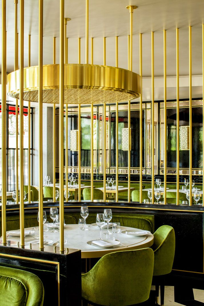 Song qi monaco s first gourmet chinese restaurant the - Chinese restaurant interior pictures ...