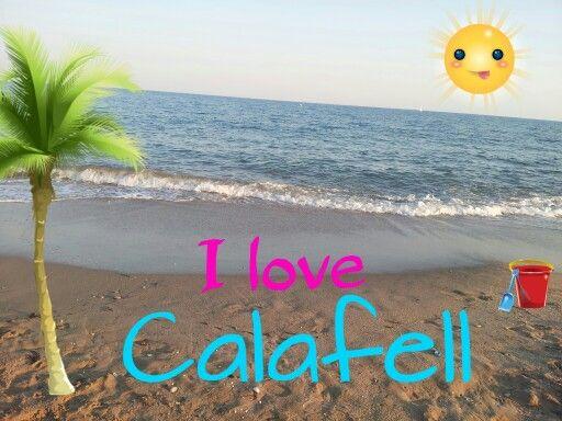 I love Calafell