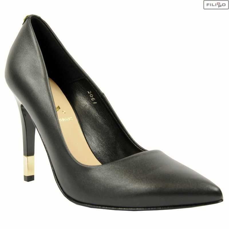 Czolenka Sala 2061 08 Czarny Lico 8022208 Czolenka Na Obcasie Czolenka Buty Damskie Filippo Pl Stiletto Heels Shoes Heels