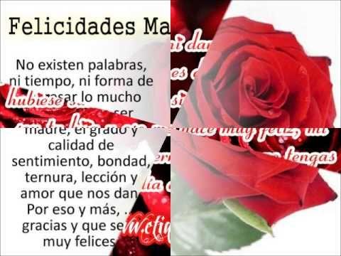 Poemas Canciones Para El Dia De La Madre Para Niños A Mi Madre De Yolanda Del Rio Youtube Feliz Dia De La Madre