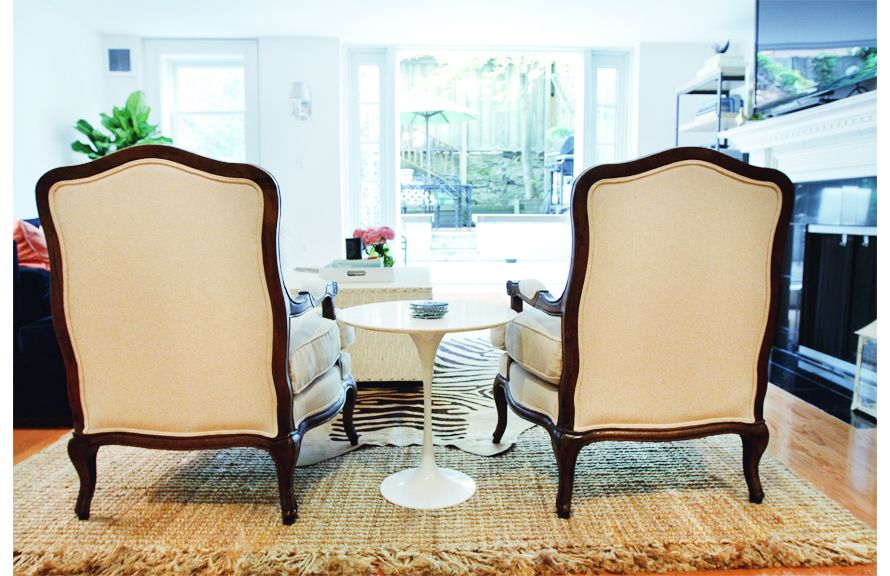 Braided Jute Rug And Louisa Bergere Chairsballard Designs I Fair Jute Rug In Dining Room Decorating Design