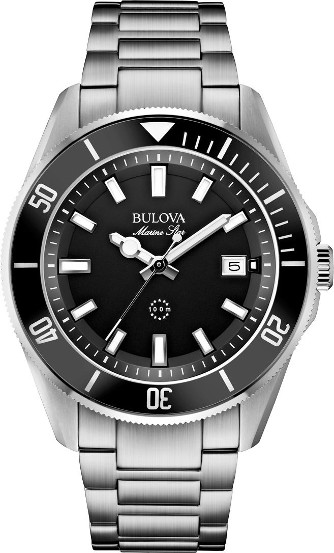 1e61ec334a7 Bulova Marine Star Diver Cool Watches
