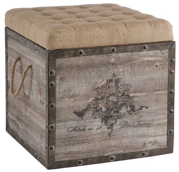 Storage Cube AG-F140A54 Aged Wood/Reclaimed Wood Measurements 18 T x 18  sc 1 st  Pinterest & Storage Cube AG-F140A54 Aged Wood/Reclaimed Wood Measurements: 18 T ...