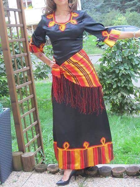 robe kabyle moderne robe kabyle robe caftans and couture