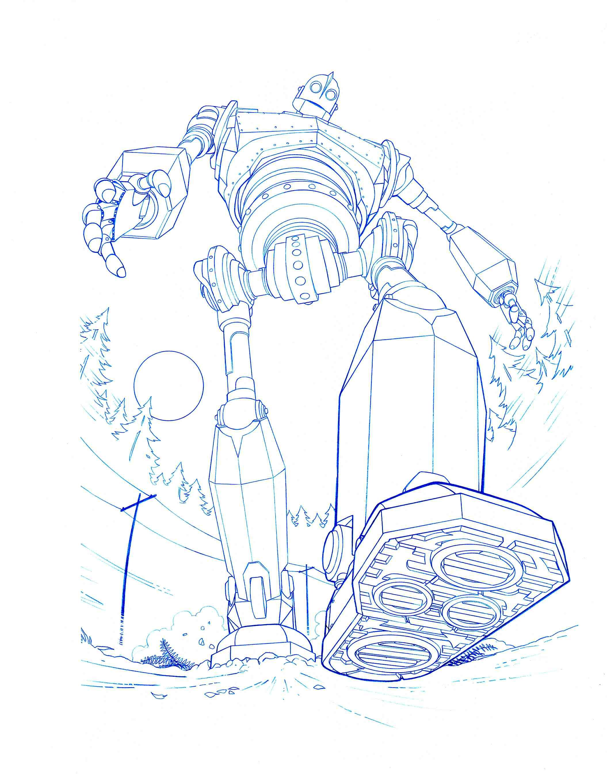 Iron Giant Step By Jerome K Moore On Deviantart Art The Iron