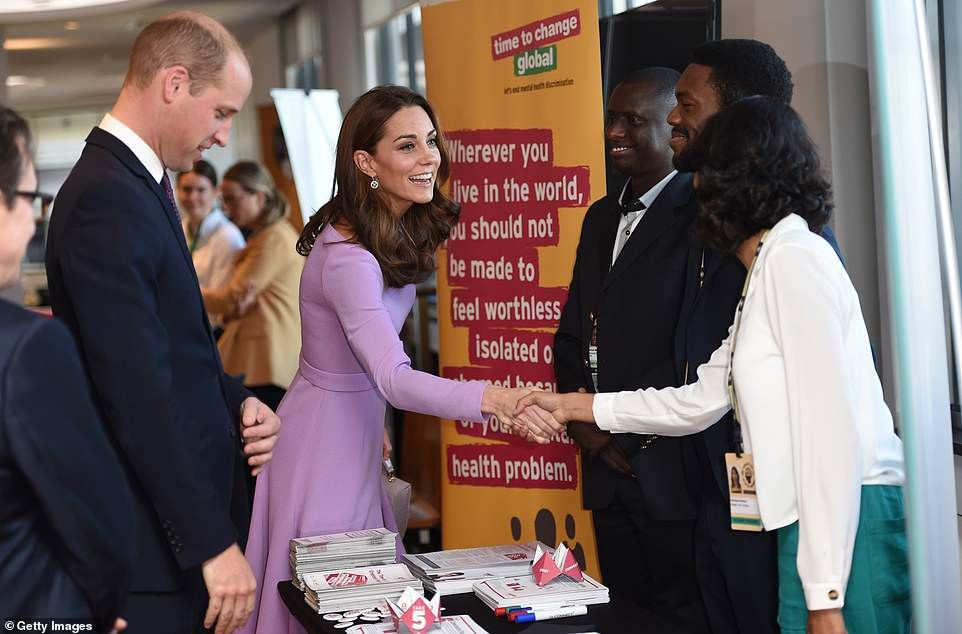 Kate and william look so happy together as she gets back