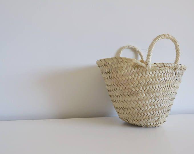 maria ana medium market bag market basket palm leaf panier osier straw basket bag basket palm. Black Bedroom Furniture Sets. Home Design Ideas