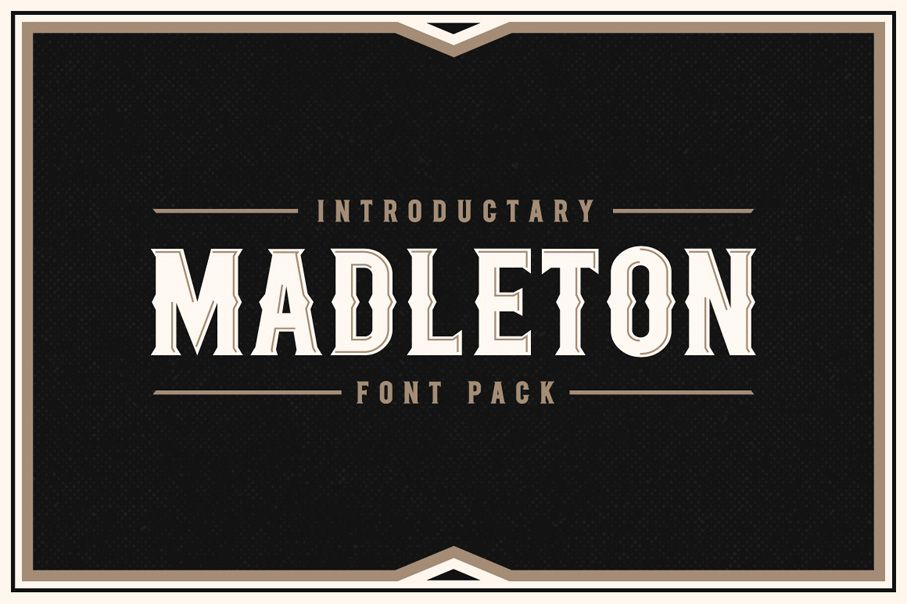 Download (25% Off) Madleton Font Pack by Rich Graphic on Creative ...