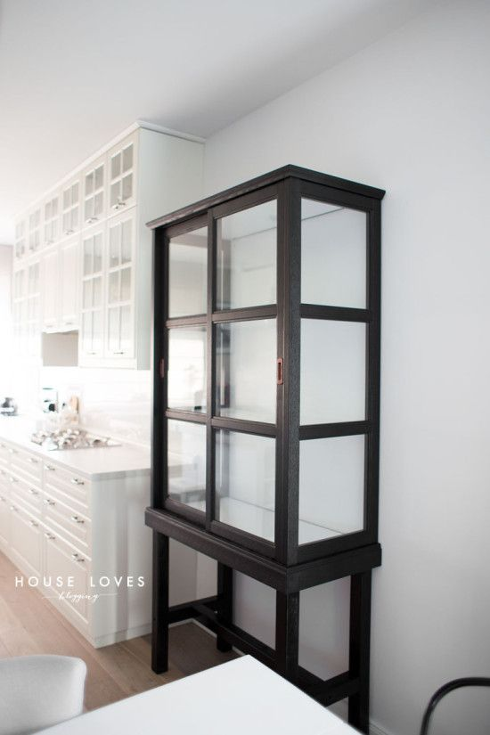 Upgrade Ikea Malsj 214 To Elegant Tall Glass Cabinet Ikea