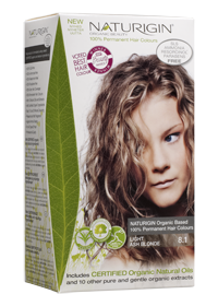 100 Organic Based Permanent Hair Color Paraben Free 8 1 Light