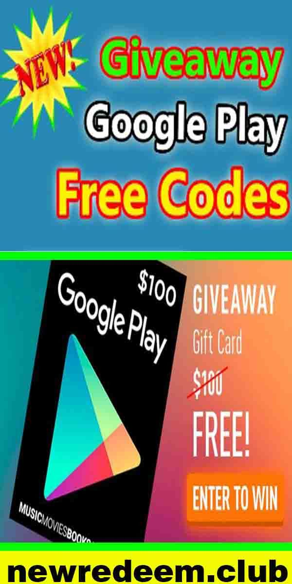Photo of Google play gift card giveaway…….