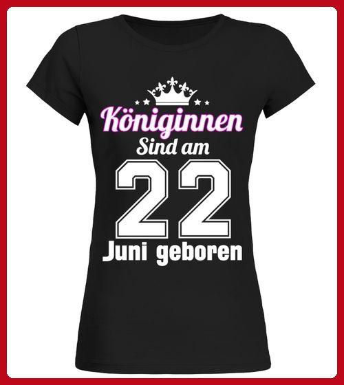 KNIGINNEN SIND AM 22 JUNI GEBOREN - Shirts für freundin (*Partner-Link)