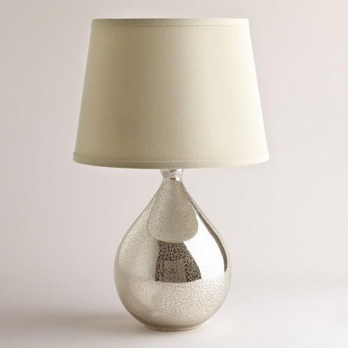 Martina Aged Mirror Table Lamp World Market Table Lamp Base Lamp Bases Mercury Glass Lamp