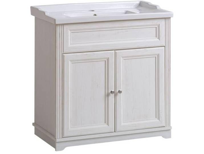 Waschbeckenunterschrank Waschtisch Waschbecken Set Badmobel 80cm