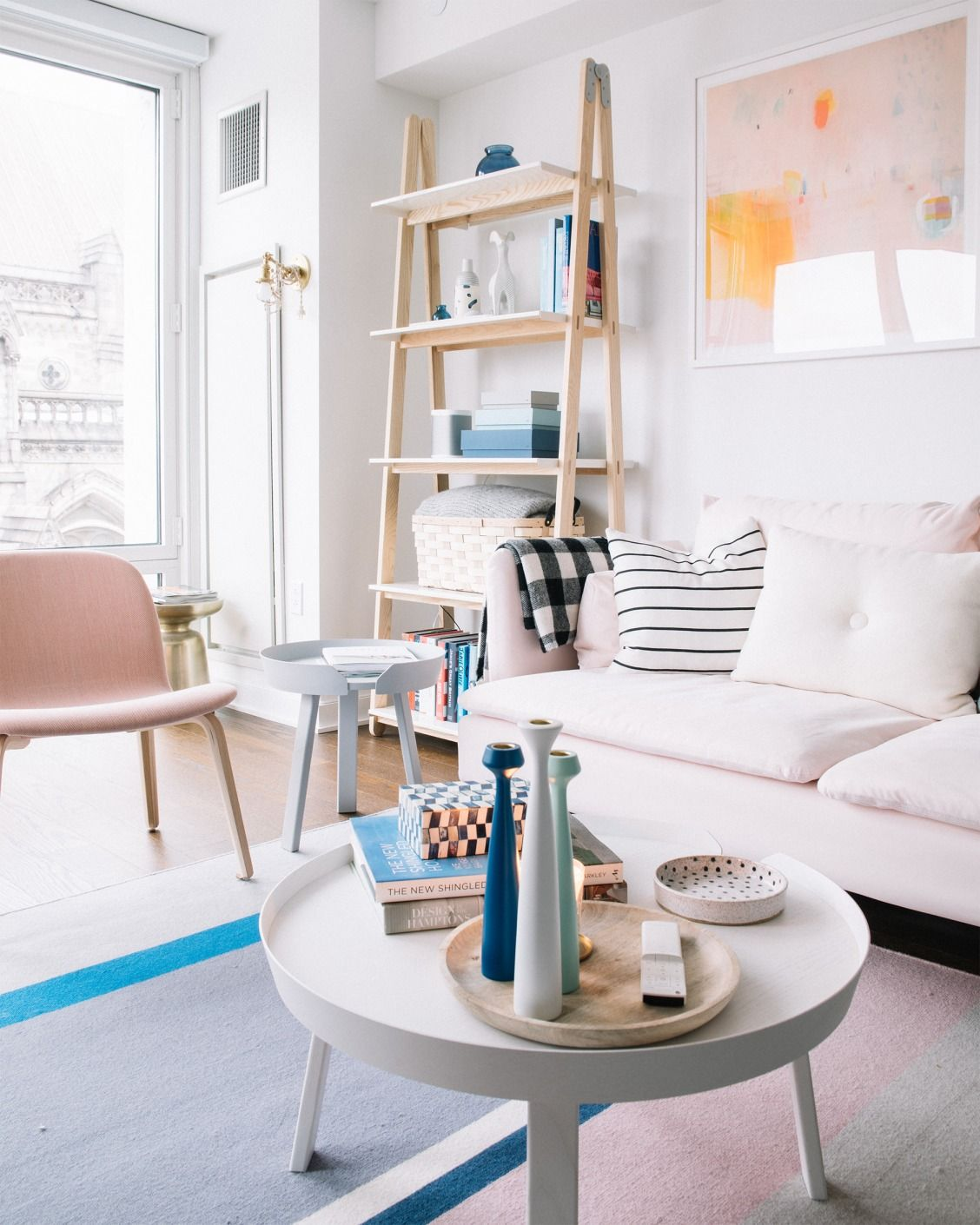 Millennial Pink Decorating Ideas From My Living Room | Home ...