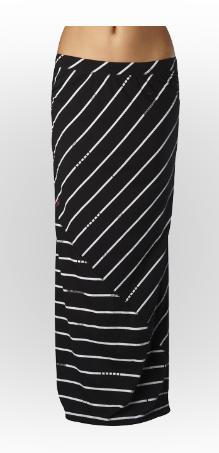 Girls Skirts - Mixed Up Maxi Skirt #FoxRacing #FoxHead #FoxGirls #Skirt #Stripes