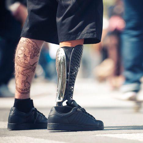3D Printed Leg.