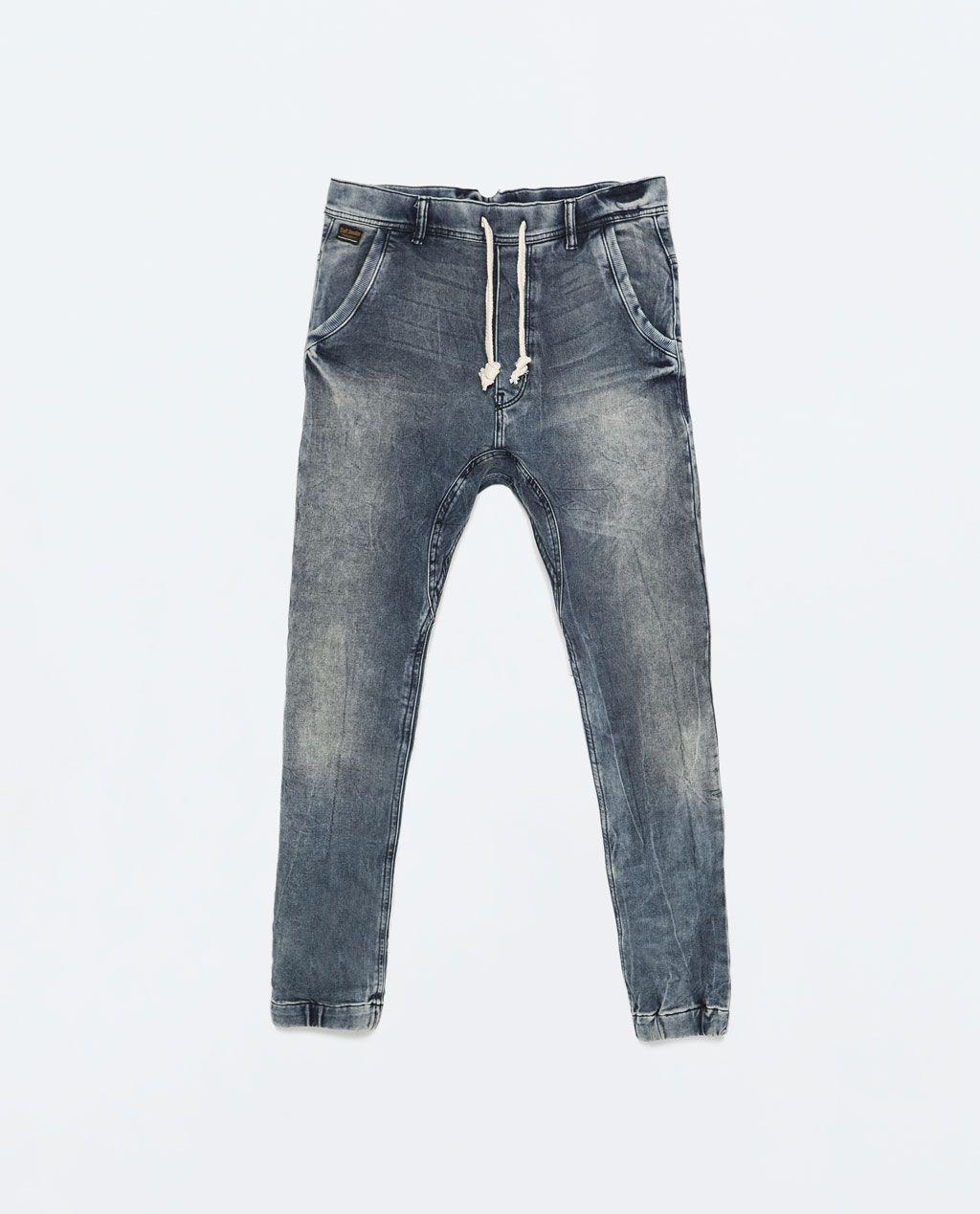 82fd8efd ZARA - MAN - VELOUR JEANS | jogger jeans | Jeans, Denim jeans, Zara man