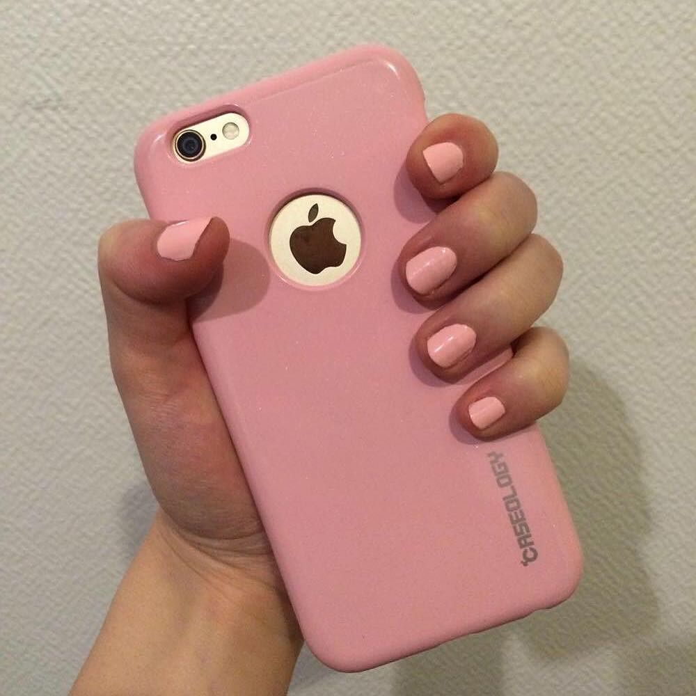 #nails #matching #phone #case #iphone6 #caseology #pink #blogger#status #matchymatchy #notonpurpose #monoprix #nailpolish #10 #rosedragée #france #french #drugstore #makeup by narehk