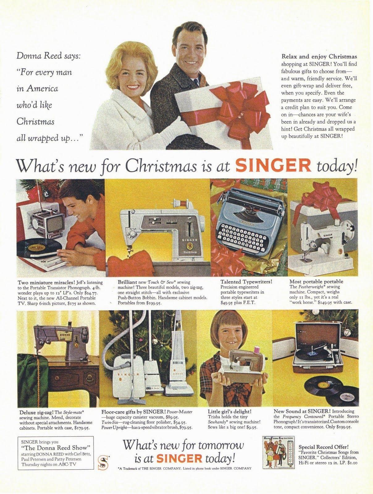 vintage everyday: Vintage Celebrity Christmas Ads | Christmas ...