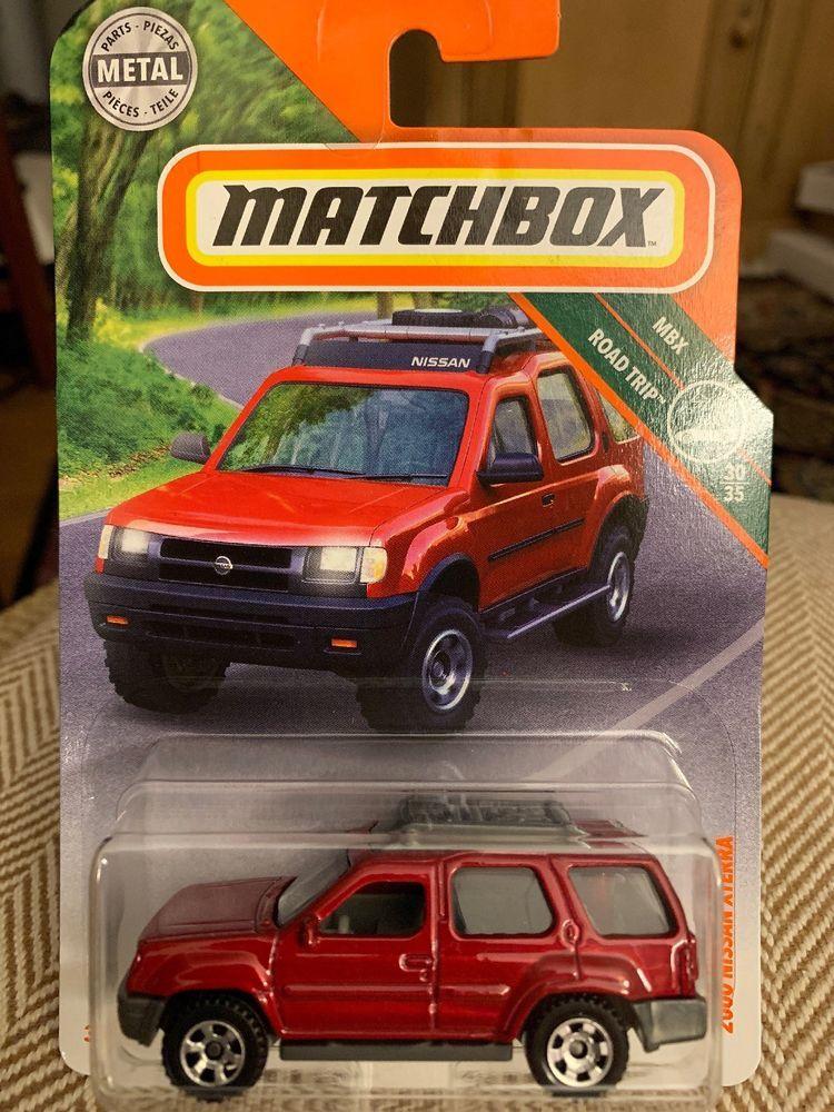2018 Matchbox 111 2000 Nissan Xterra Red Suv Mbx Road Trip Ebay