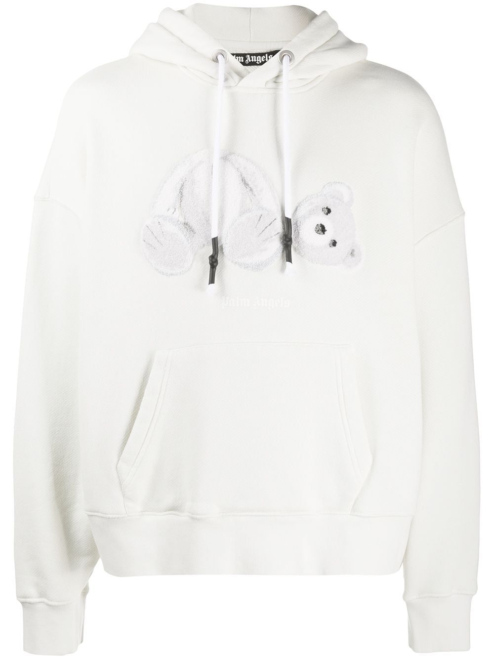 Palm Angels Teddy Bear Hooded Sweatshirt Farfetch Hooded Sweatshirts Sweatshirts Angel Teddy Bear [ 1334 x 1000 Pixel ]