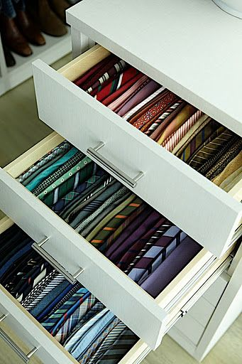Tie Organization Why Hadn T I Thought Of This Years Ago Men Closet Closet Makeover Tie Storage