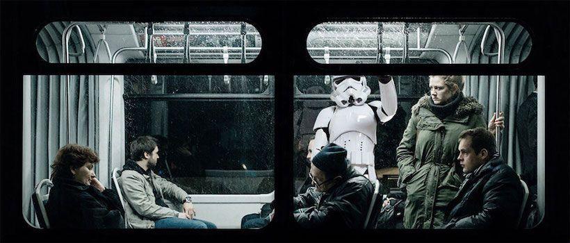 En images : quand des personnages de la pop culture se retrouvent coincés dans le monde réel