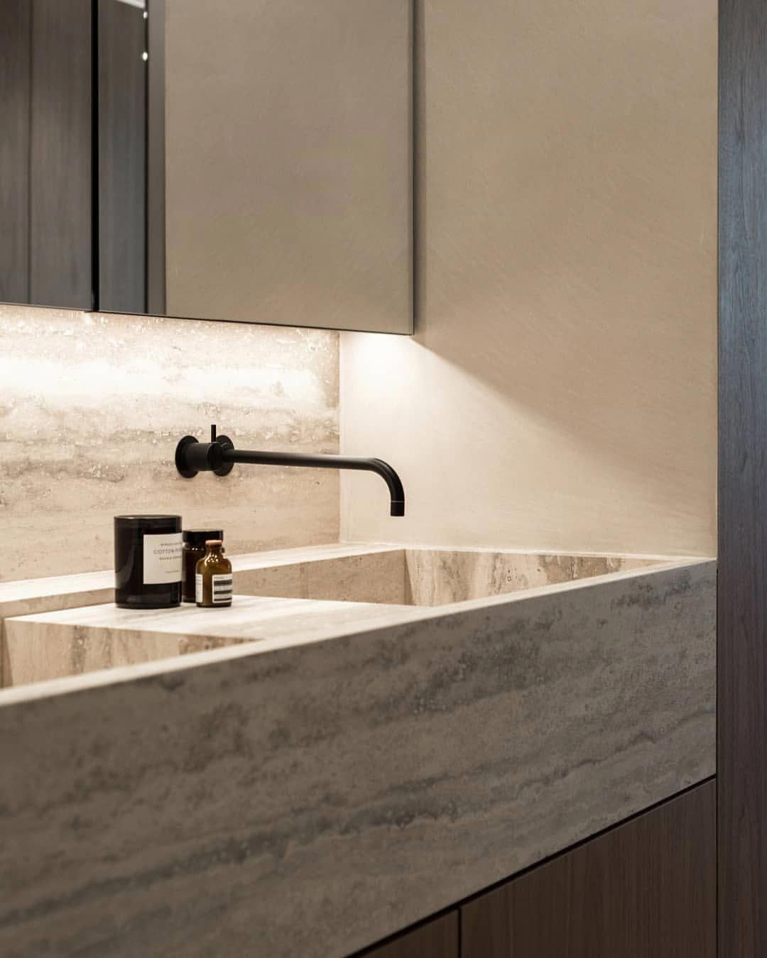 Master bathroom details at the townhouse we remodeled in ...