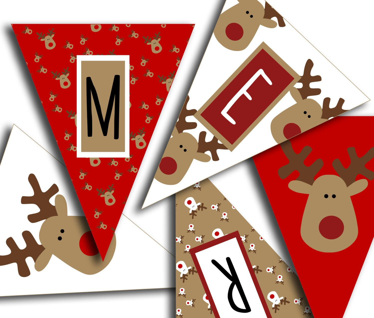 picture relating to Printable Christmas Banner known as Merry Xmas Banner - Xmas Get together Printable Indication