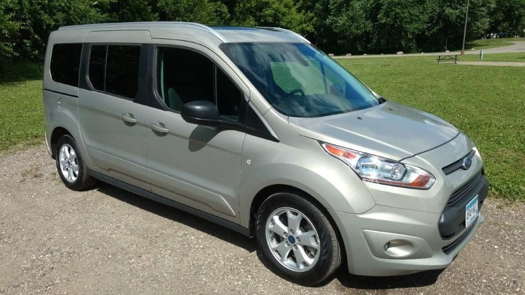 2016 FORD TRANSIT CONNECT CAMPERVAN, GREAT GAS MILEAGE, SOLAR ...