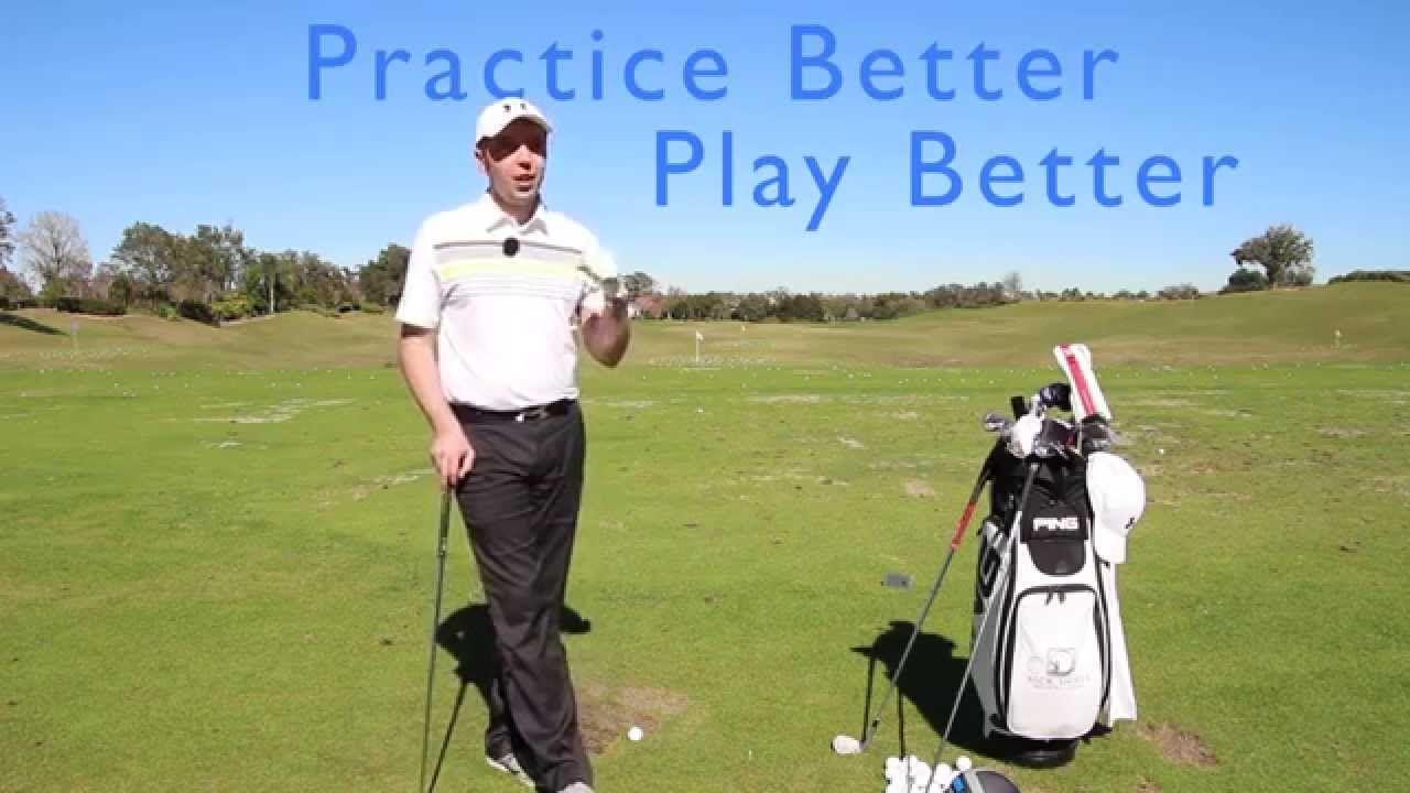 Hit less practice balls and play better golf golf golf