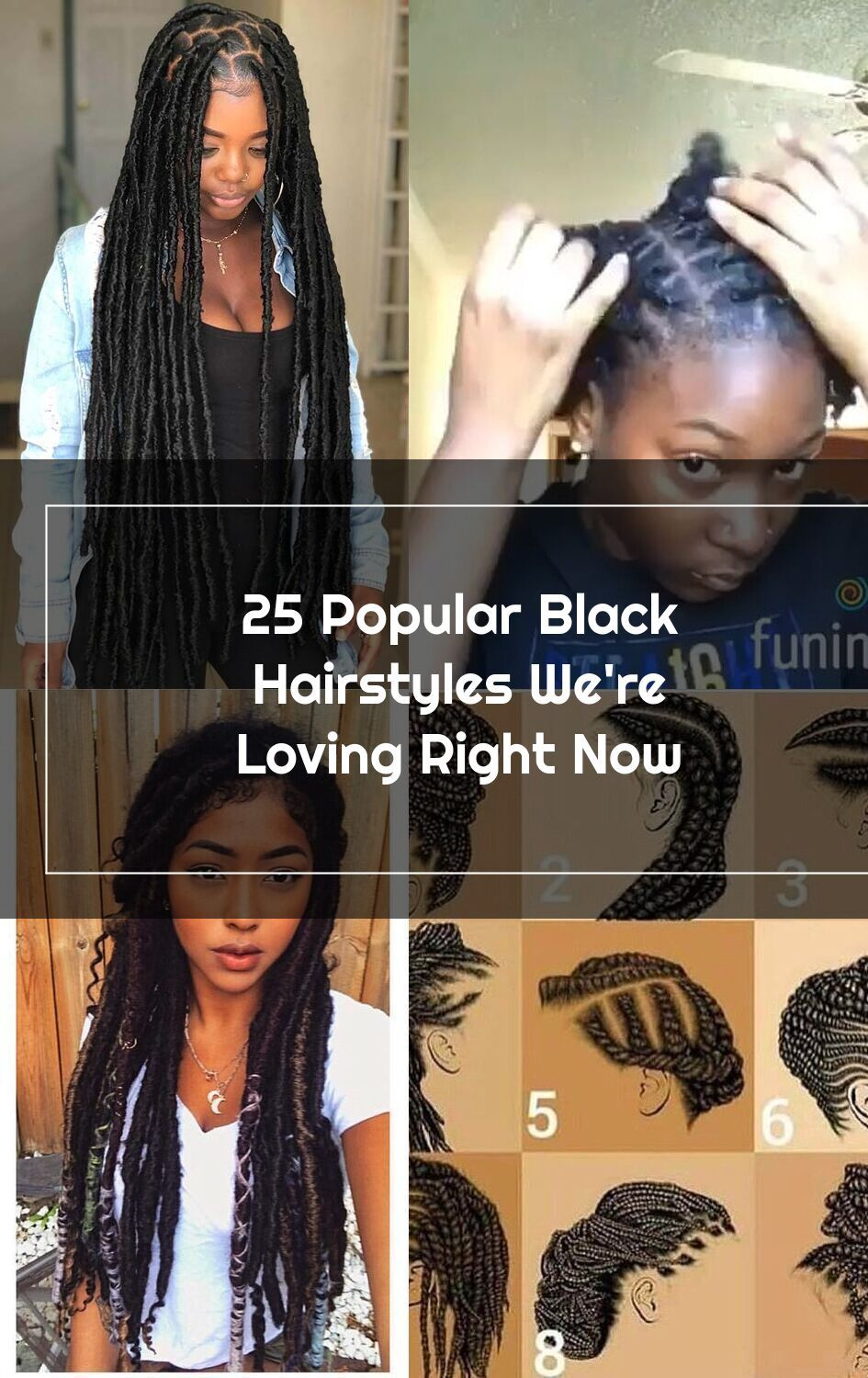 25 Popular Black Hairstyles We Re Loving Right Now Stayglam This Is Real In 2020 Black Hair Types Of Fashion Styles Hair Styles