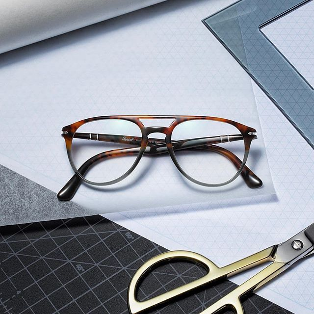 a5695d7a2d0 Explore the new  Persol collection of double bridge frames that are  inspired by fine architecture. Photo  Glasses
