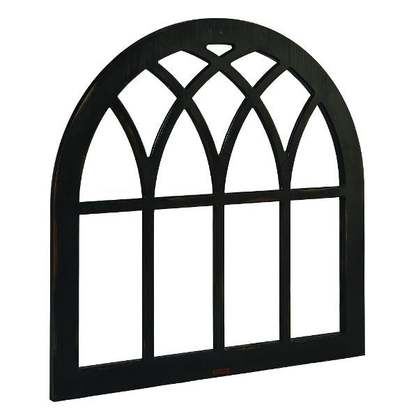 Magnolia Home Furniture Black Cathedral Window Frame Wall Decor Cathedral Windows Magnolia Homes Frame Wall Decor