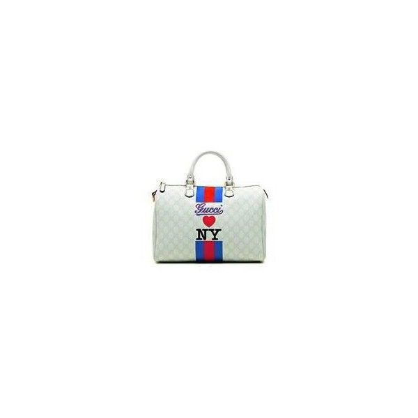 b08c2e874d Gucci Loves New York Handbag | Limited Edition Monogrammed Boston Bag »  Bags, Handbags & Purses found on Polyvore