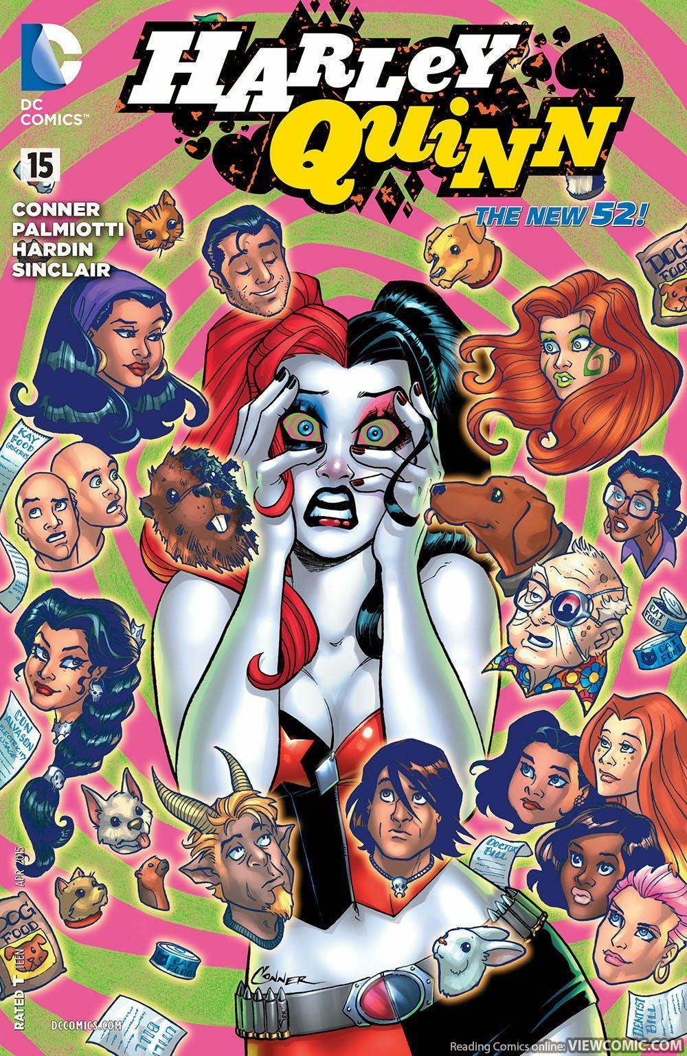harley quinn 015 2015 viewcomic reading comics online